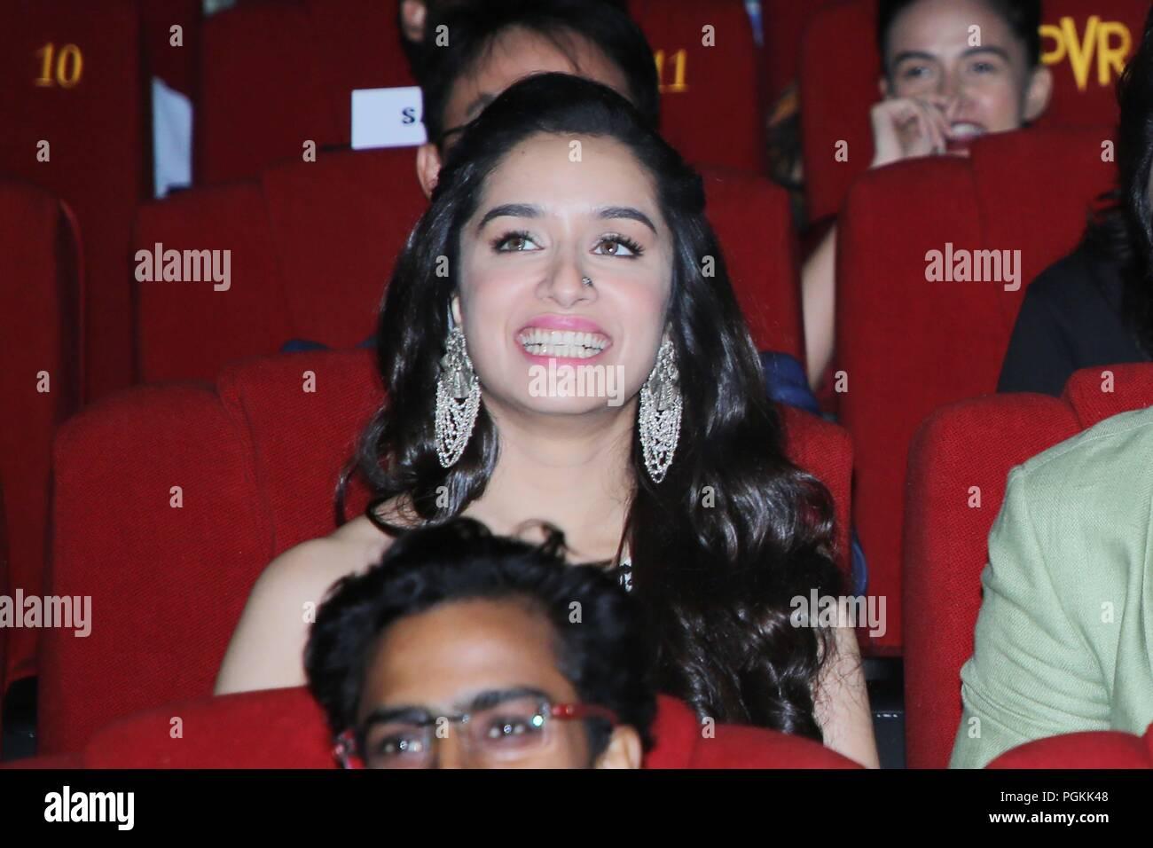 New Delhi India 27th Aug 2018 Bollywood Actress Shradha Kapoor