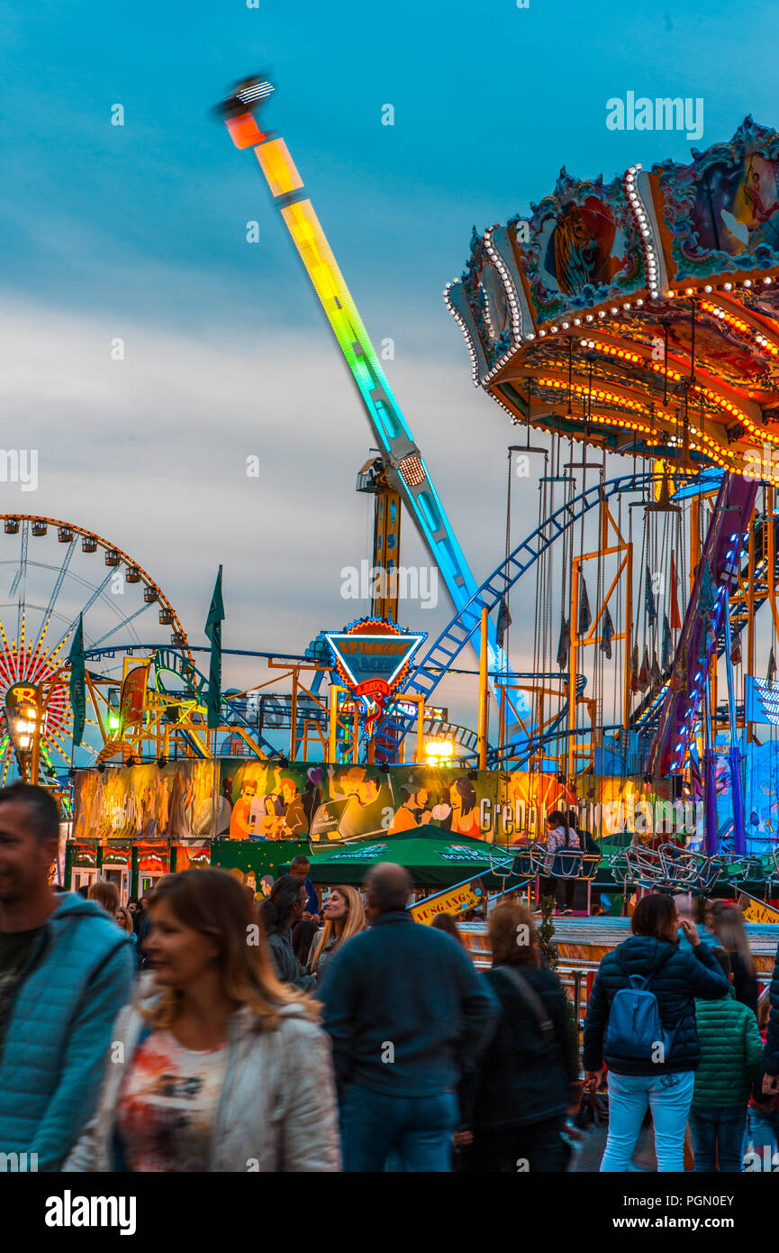 Schueberfouer 2018, Luxembourg - Stock Image