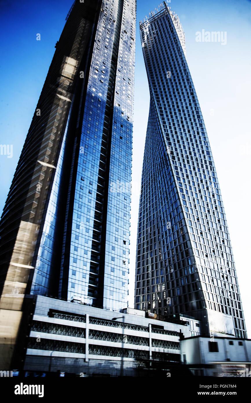 cayan tower - Stock Image