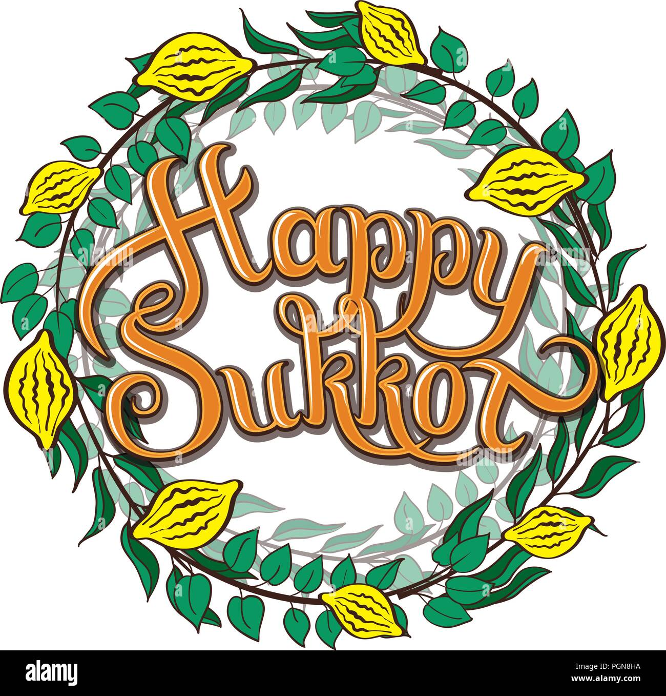 Jewish Holiday Of Sukkot Stock Photos Jewish Holiday Of Sukkot