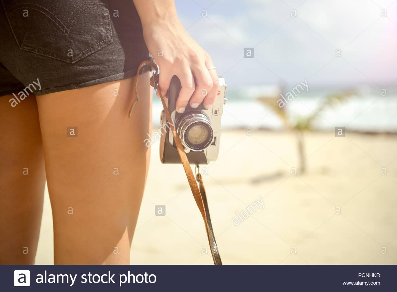 Good idea. girl fingering on beach right!
