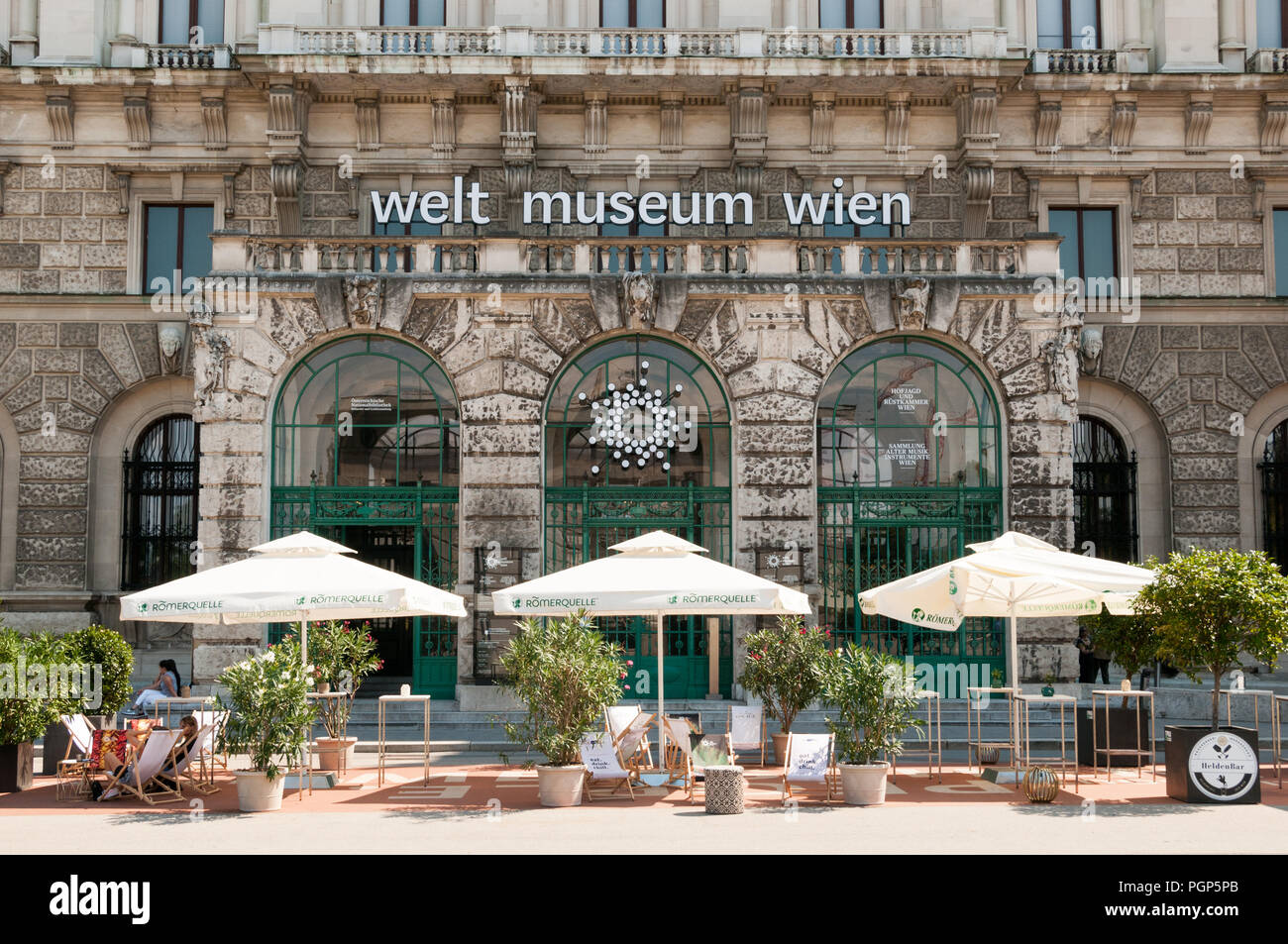 Museum of Ethnology, Vienna, Austria - Stock Image