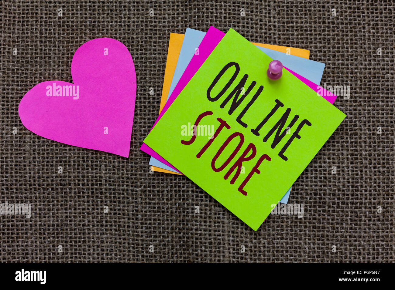 Handwriting Text Online Store Concept Meaning A Website That Offers Items For Sale And Accept Credit Cards Paper Notes Important Reminders Romantic L Stock Photo Alamy