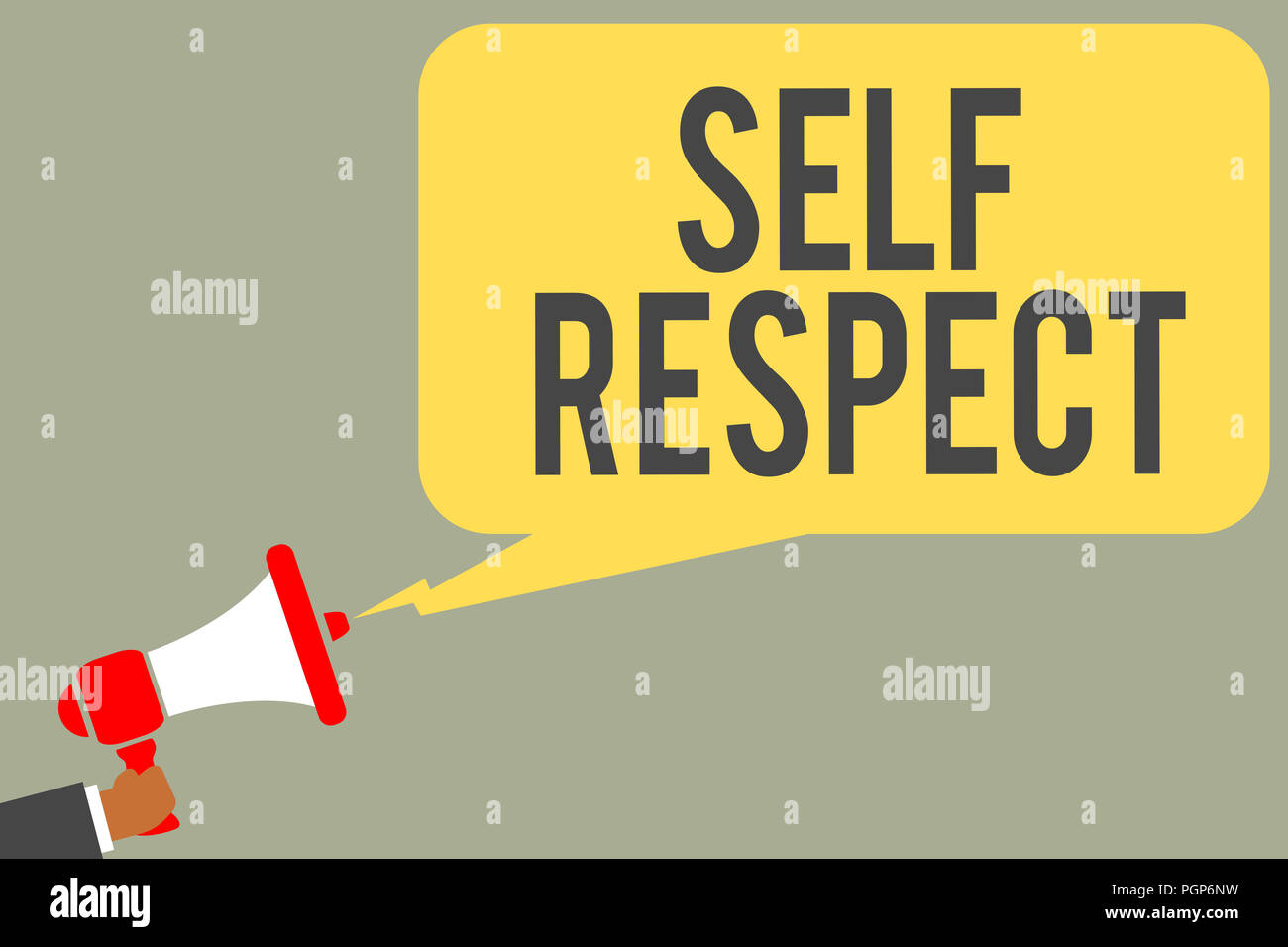 showing self respect