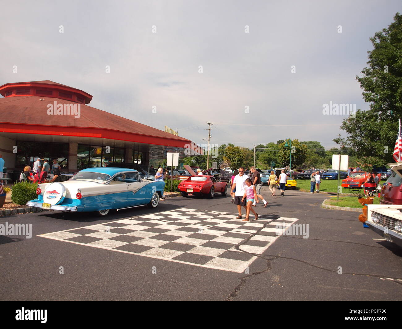 Car Show At The Chatterbox Restaurant In Augusta NJ During Its - Augusta car show