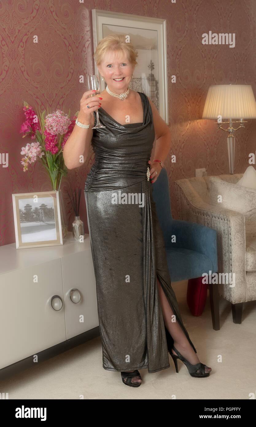 Party Dress for Elderly