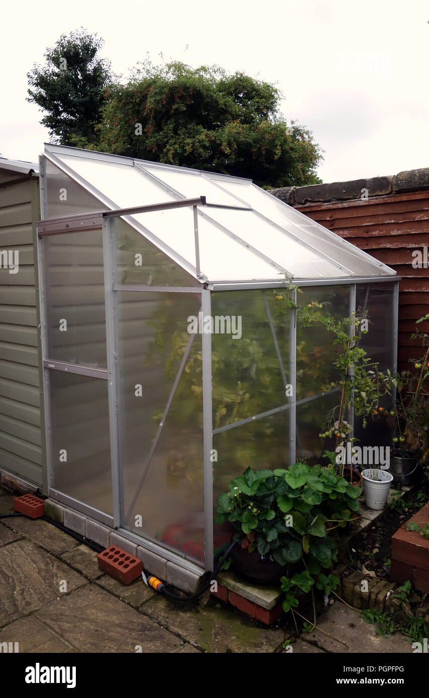 Lean To Greenhouse Stock Photos & Lean To Greenhouse Stock