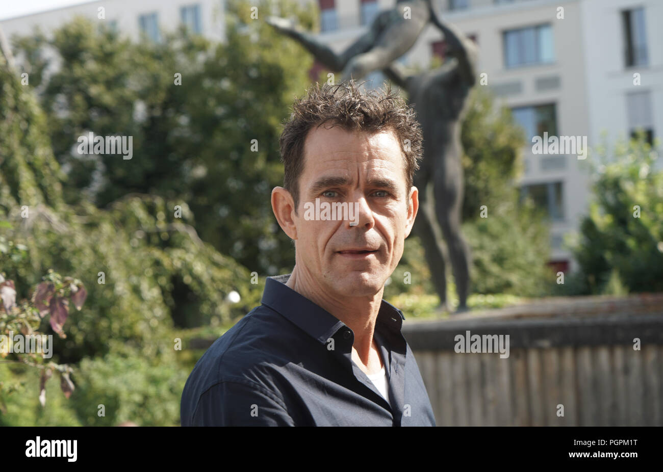 Germany Berlin 28th Aug 2018 Director Tom Tykwer Attends The Presentation Of