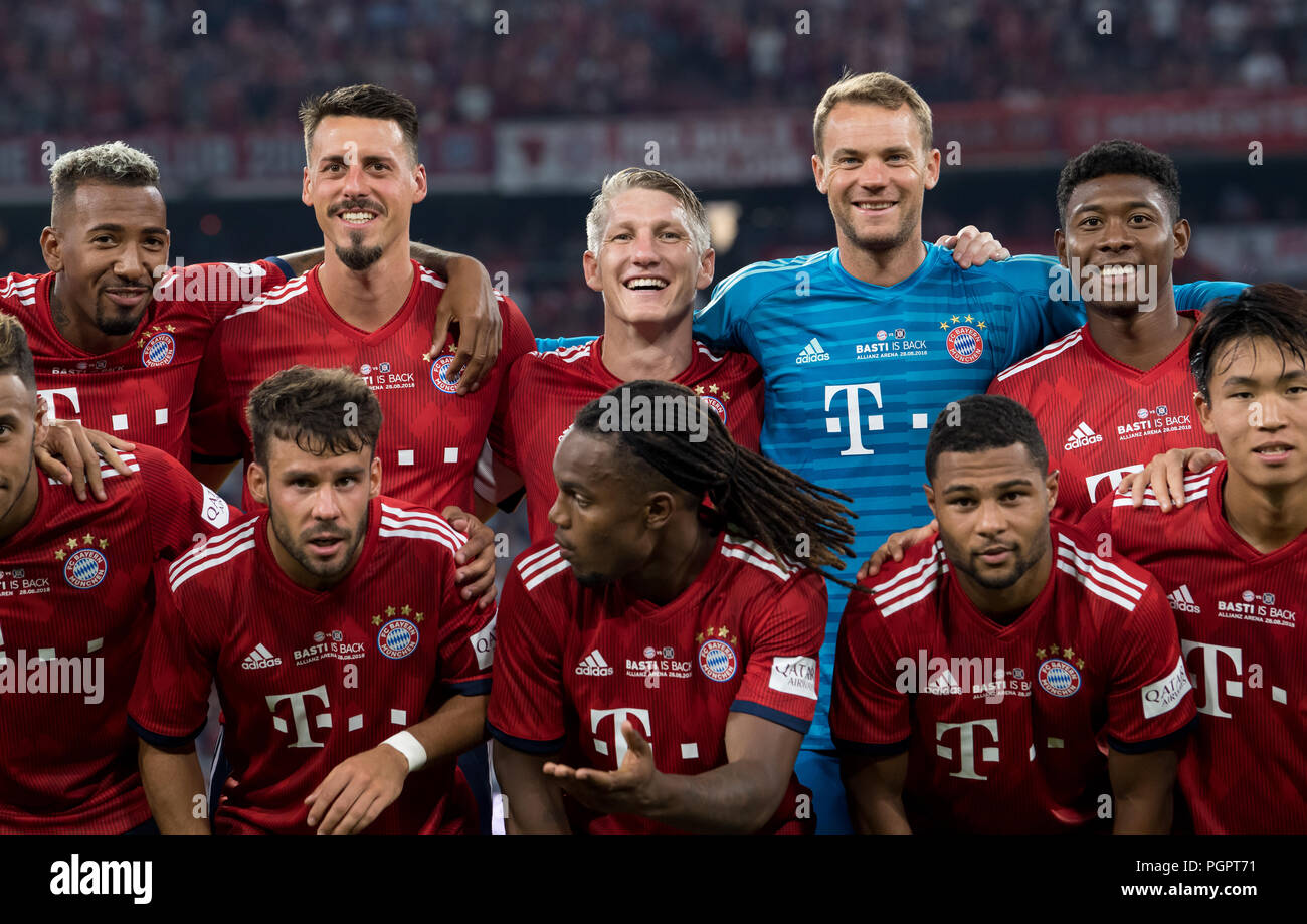 promo code e55a2 52d99 Munich, Germany. 28th Aug, 2018. Soccer, Farewell match for ...