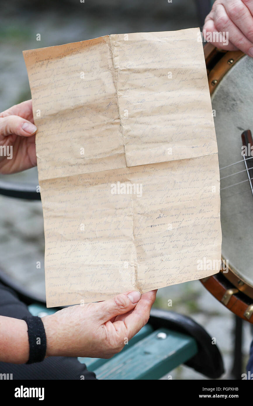 20 August 2018, Germany, Markneukirchen: A hobby instrument ...
