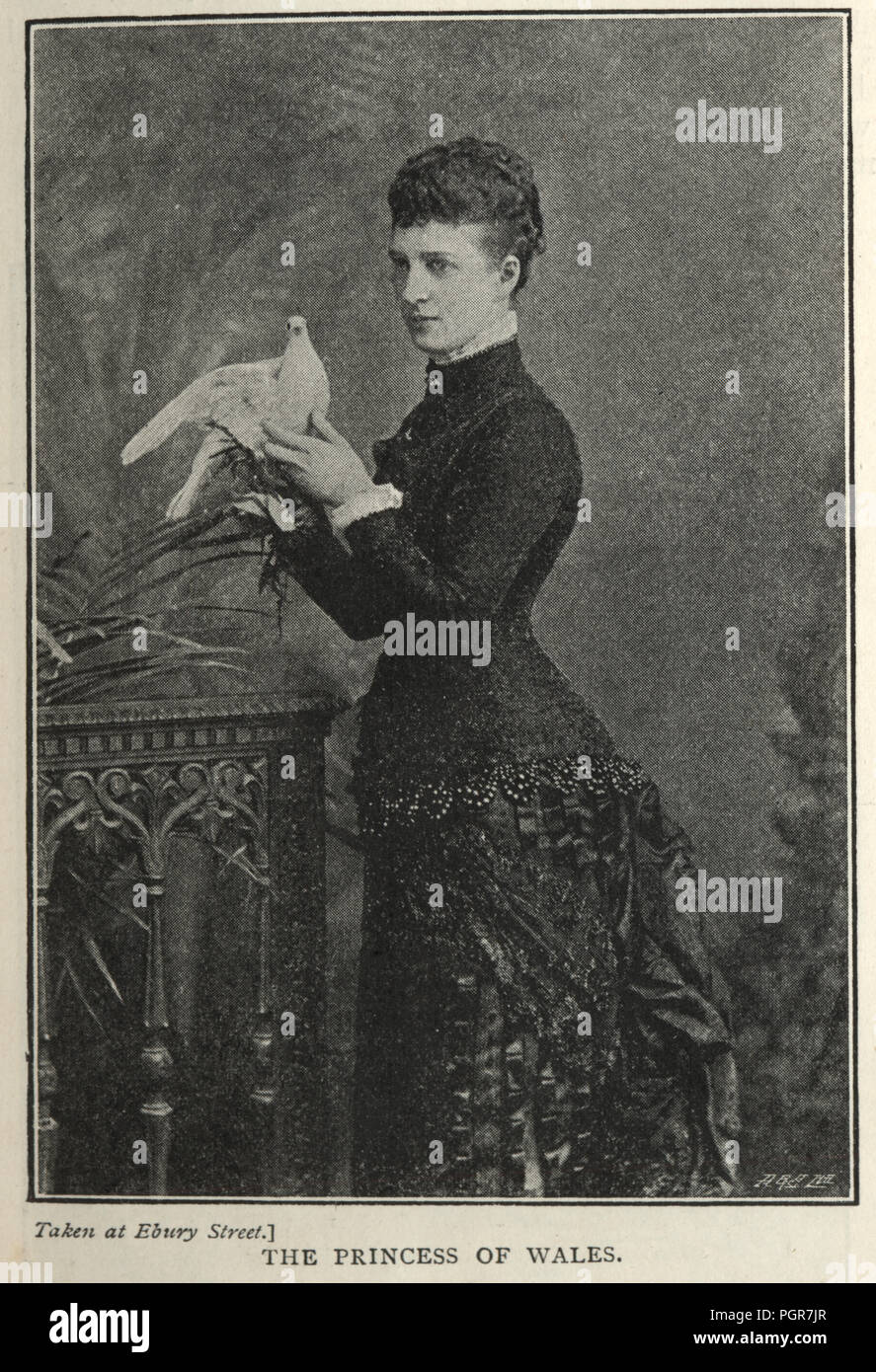 Queen Alexandra Of Denmark Stock Photos and Images