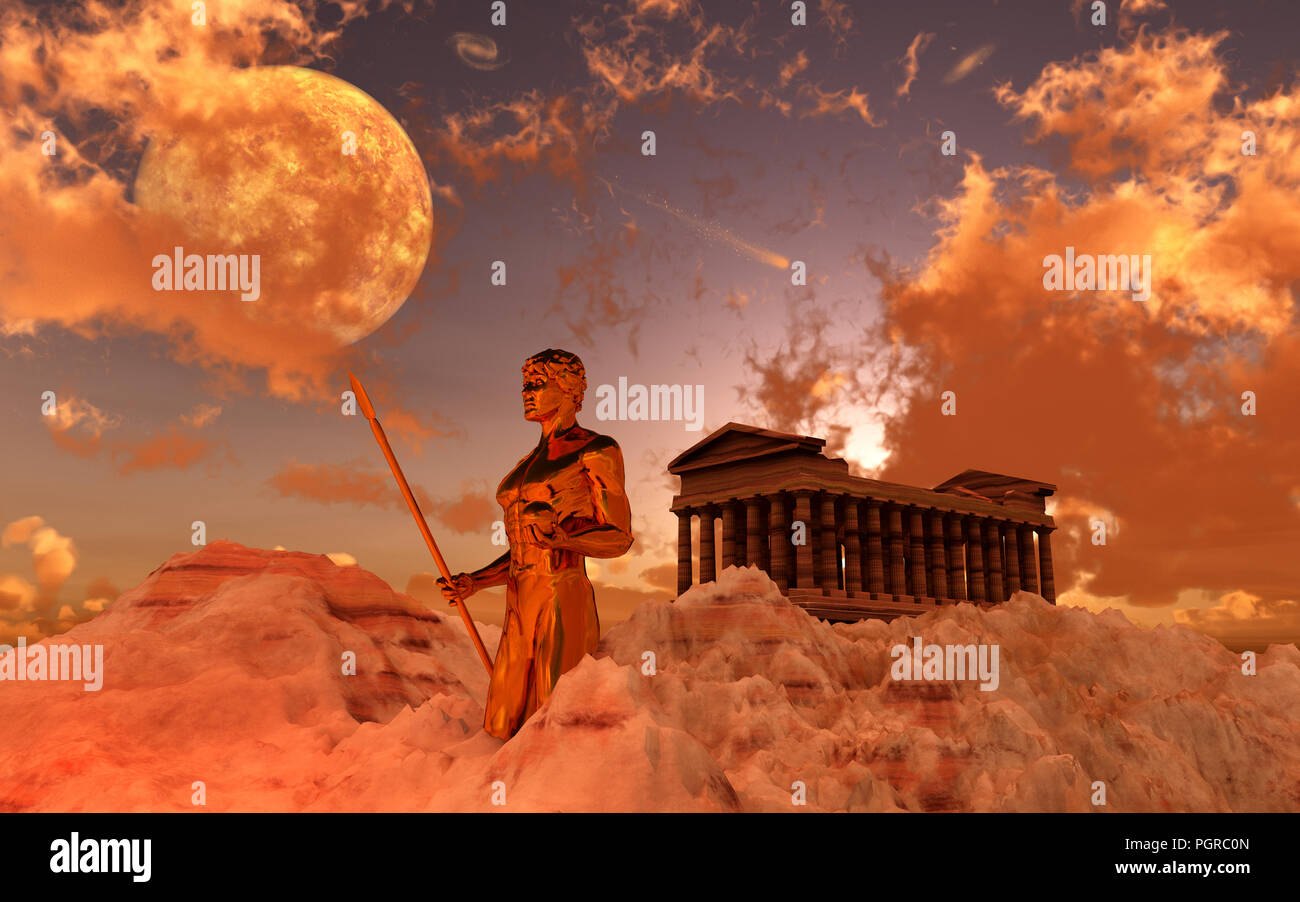 Mount Olympus - Stock Image