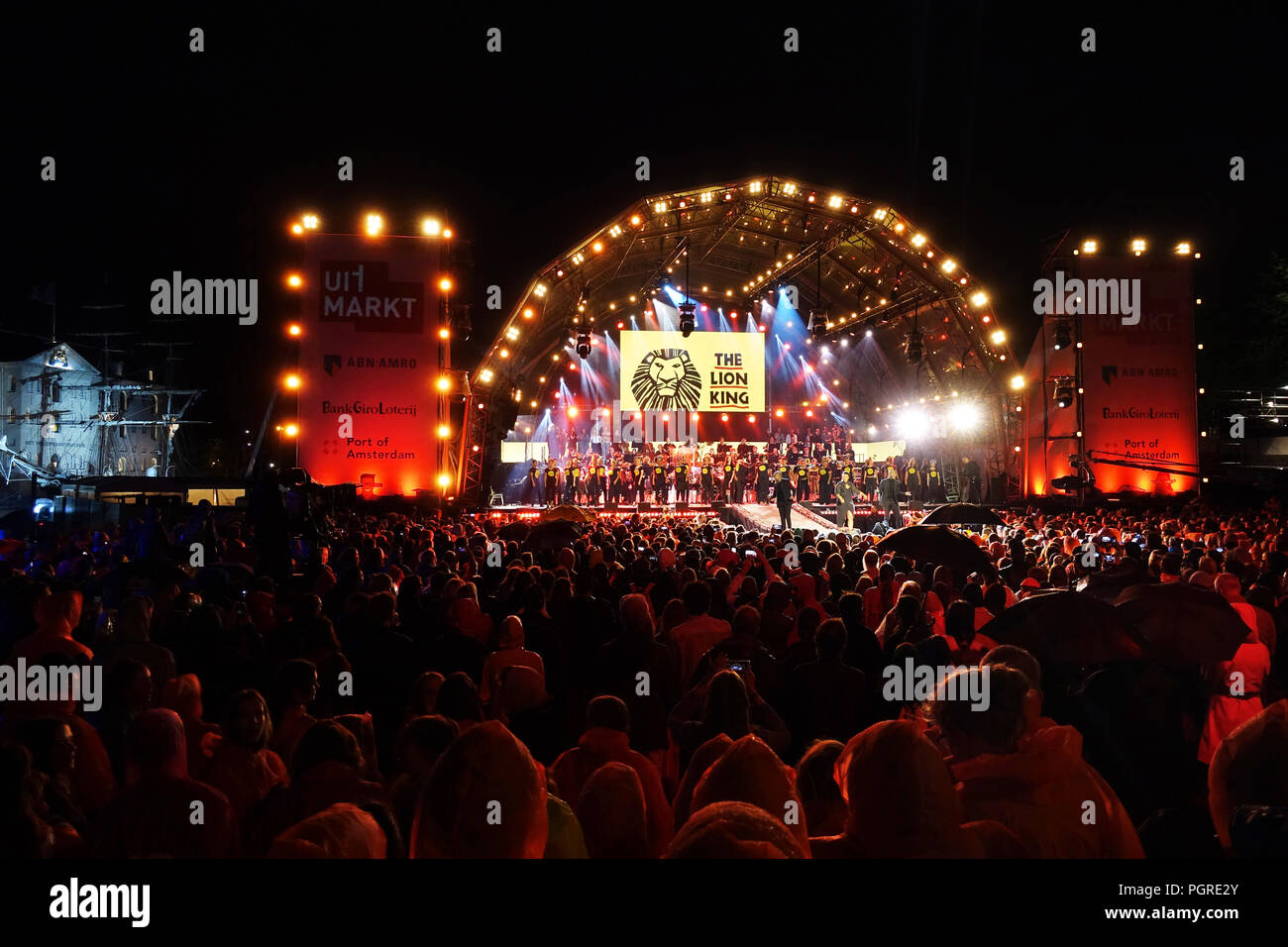 Uitmarkt Amsterdam, the opening of the cultural season in Amsterdam - Stock Image