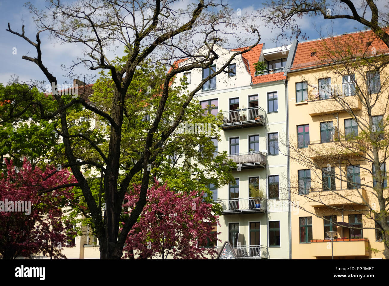 housing property in berlin germany - Stock Image