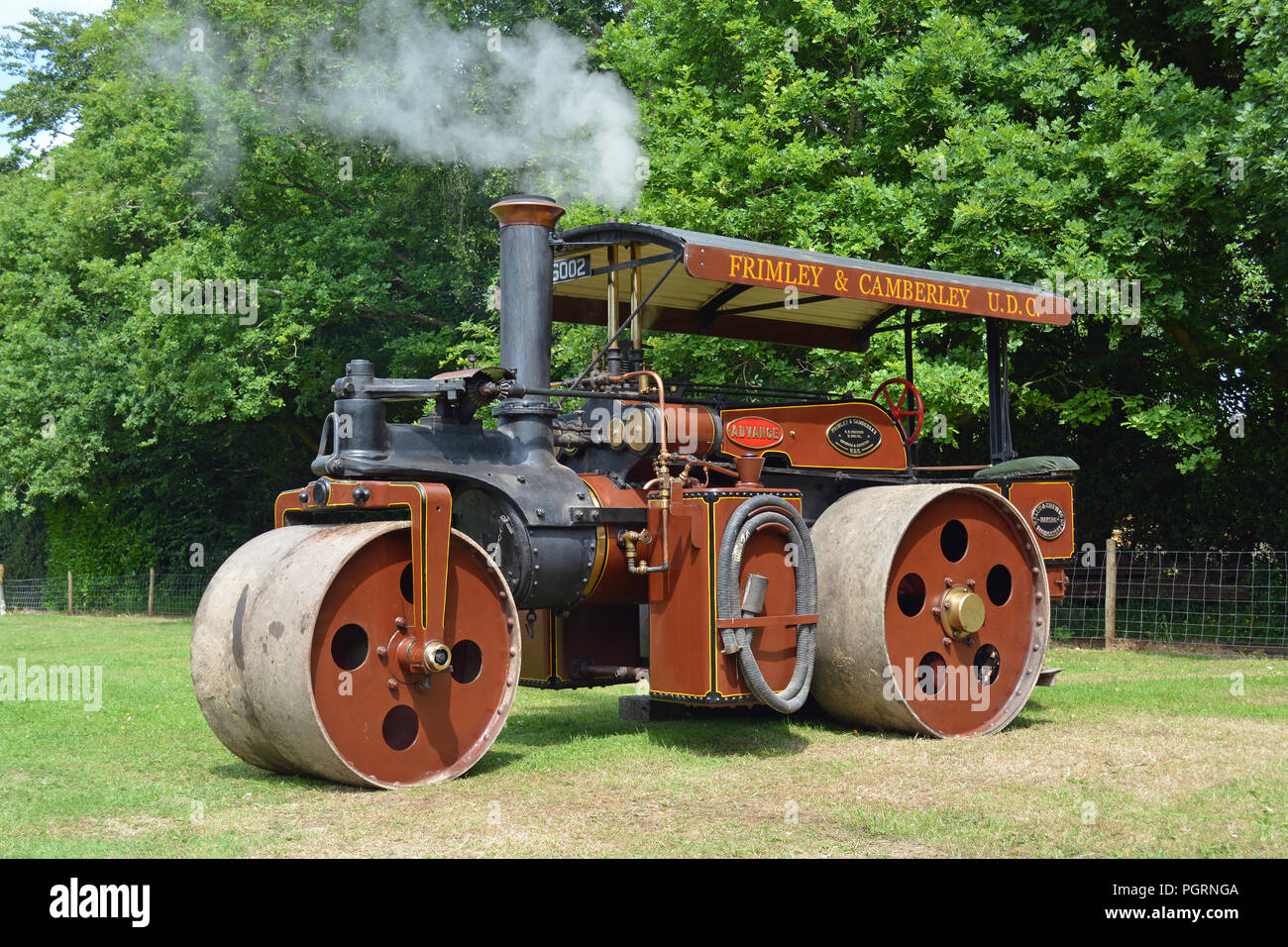 Wallis Advance 6ton Road Roller - Stock Image