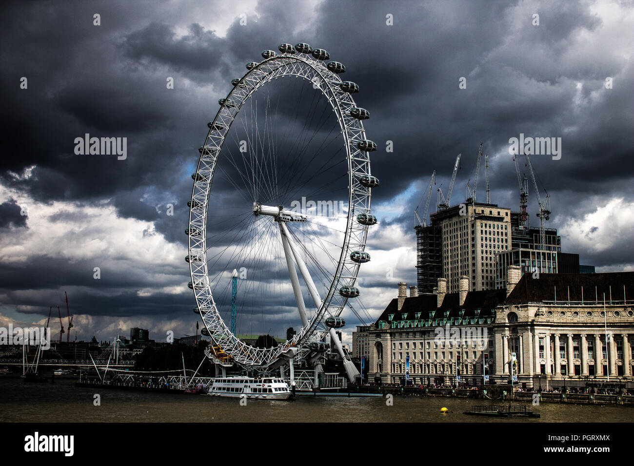London Eye, London Stock Photo
