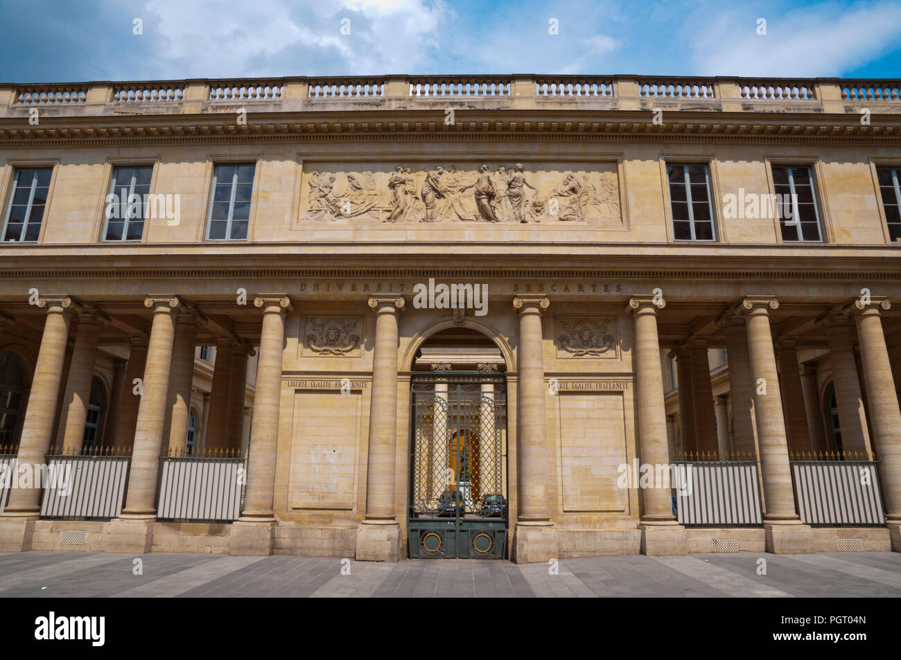 Universite Rene Descartes, St Germain des Pres, Left Bank, Paris, France - Stock Image