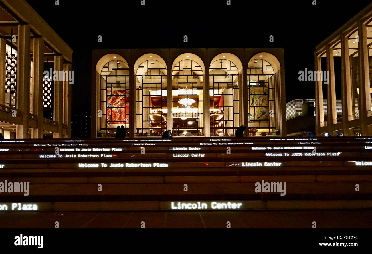Fordham University Lincoln Center for the Performing Arts, New York City - Stock Image