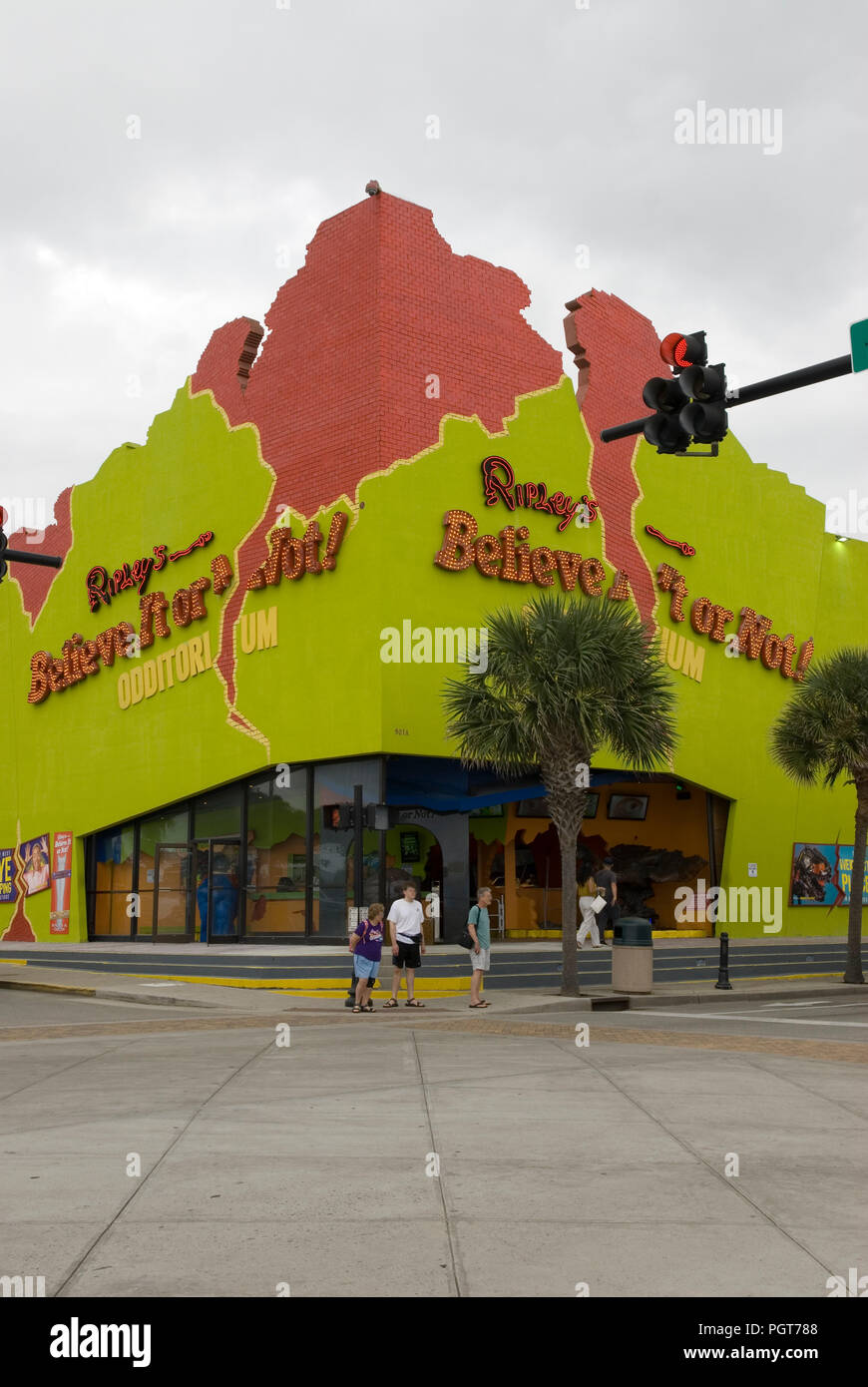 Ripley's Believe It Or Not Museum Myrtle Beach SC USA - Stock Image