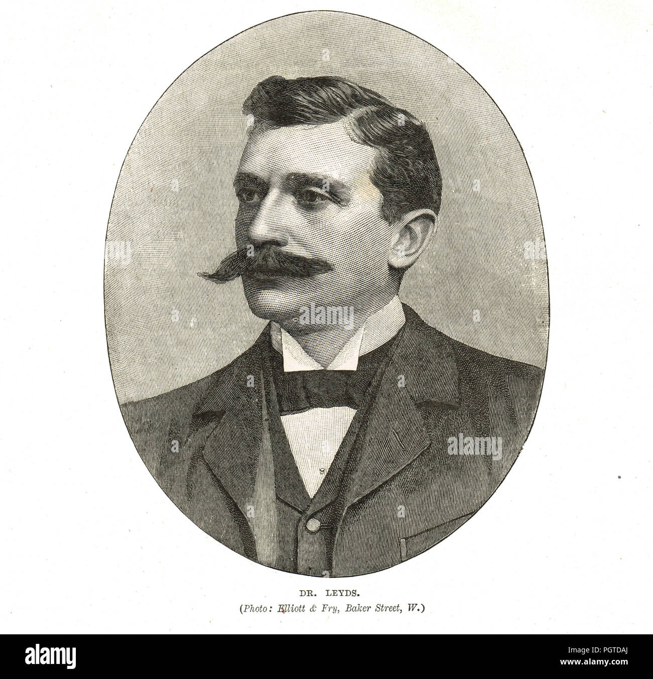 Dr Willem Johannes Leyds, Dutch lawyer and statesman, State Secretary of the South African Republic, during the South African War (Second Boer War) - Stock Image