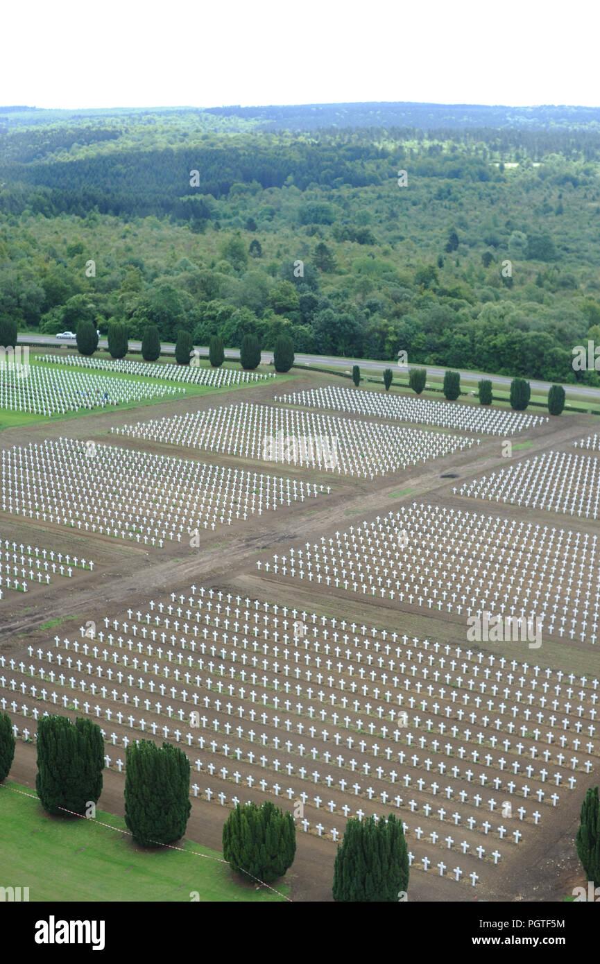 soldier cemetery in Verdun France Stock Photo