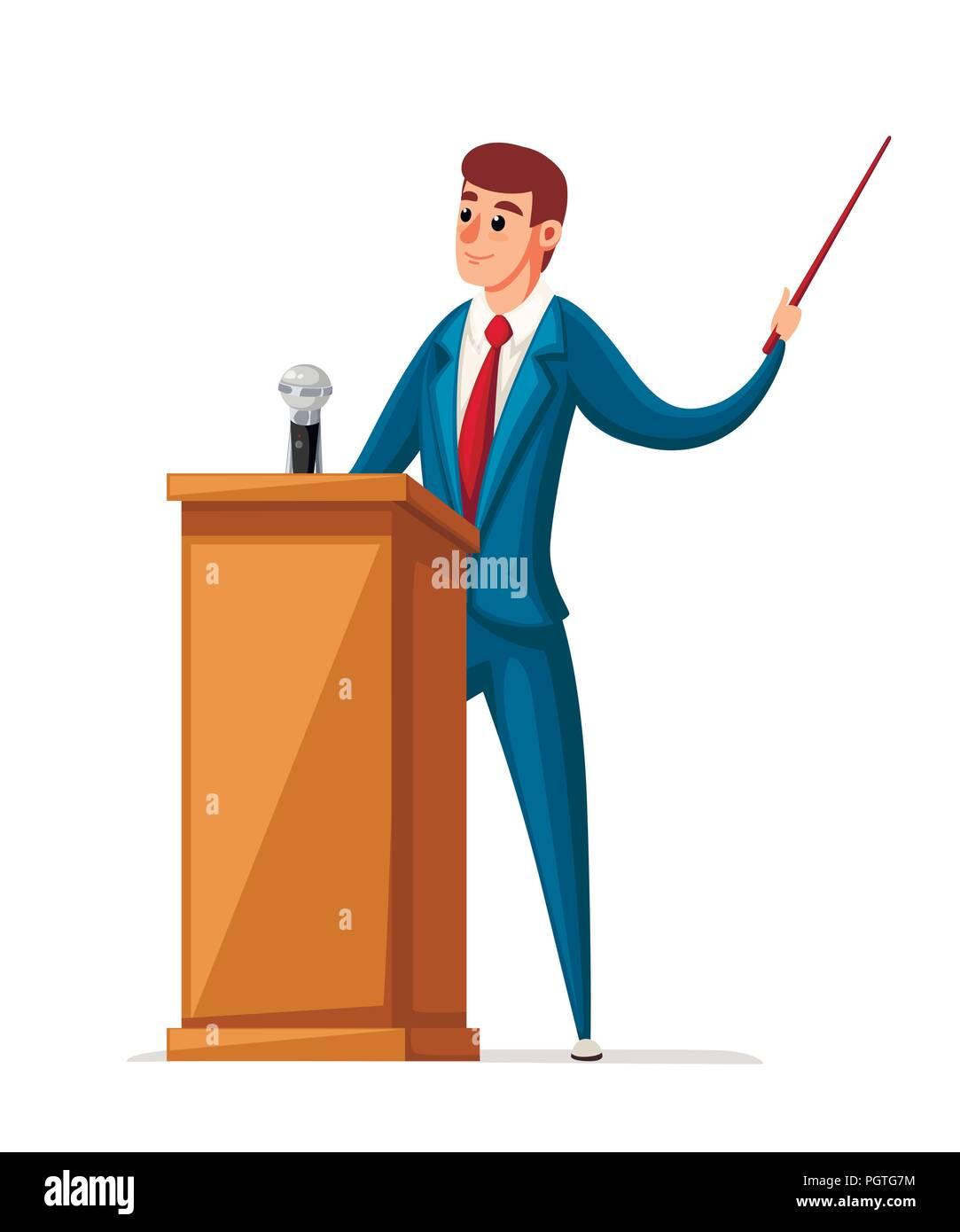 speech on character