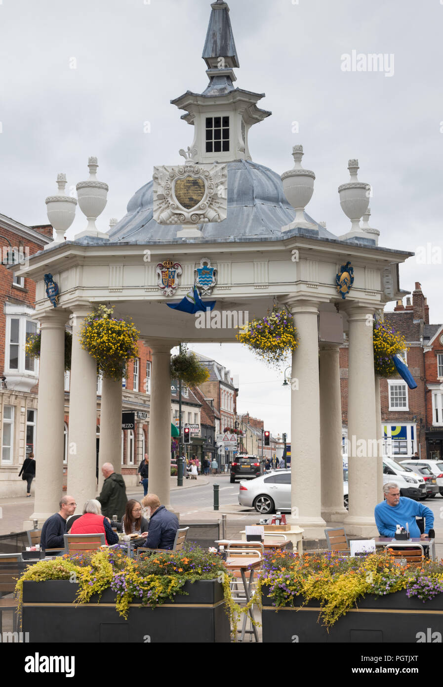 The bandstand in Beverley, East Yorkshire - Stock Image
