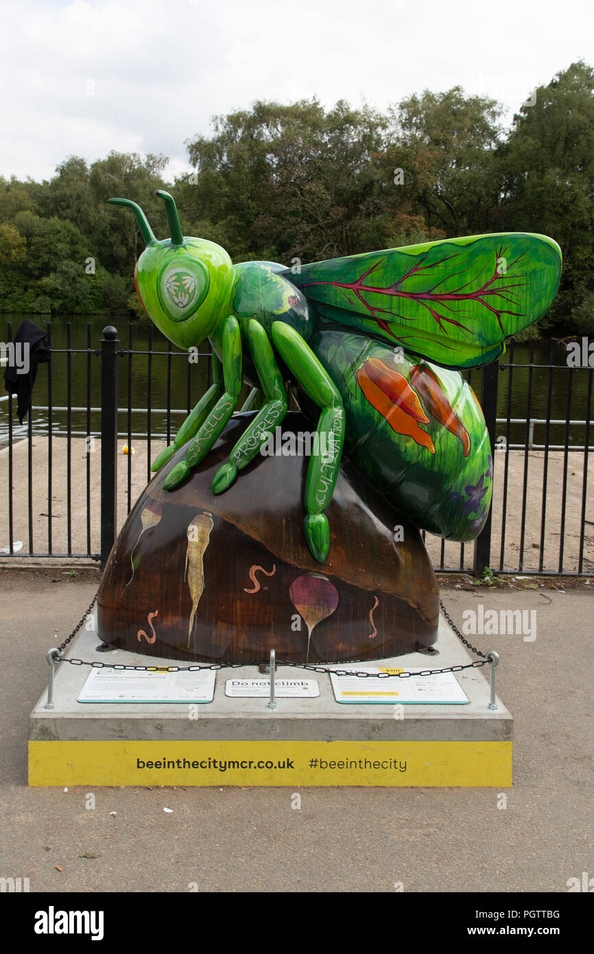 Manchester Bee In The City 2018 - Stock Image