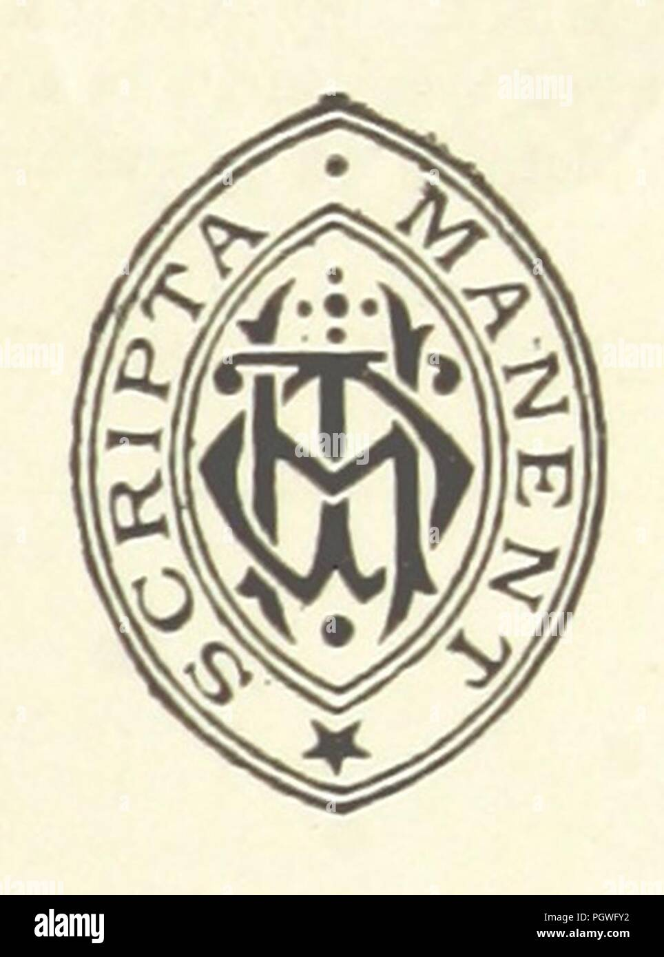 Image  from page 7 of 'The Last Sentence. A novel' . - Stock Image