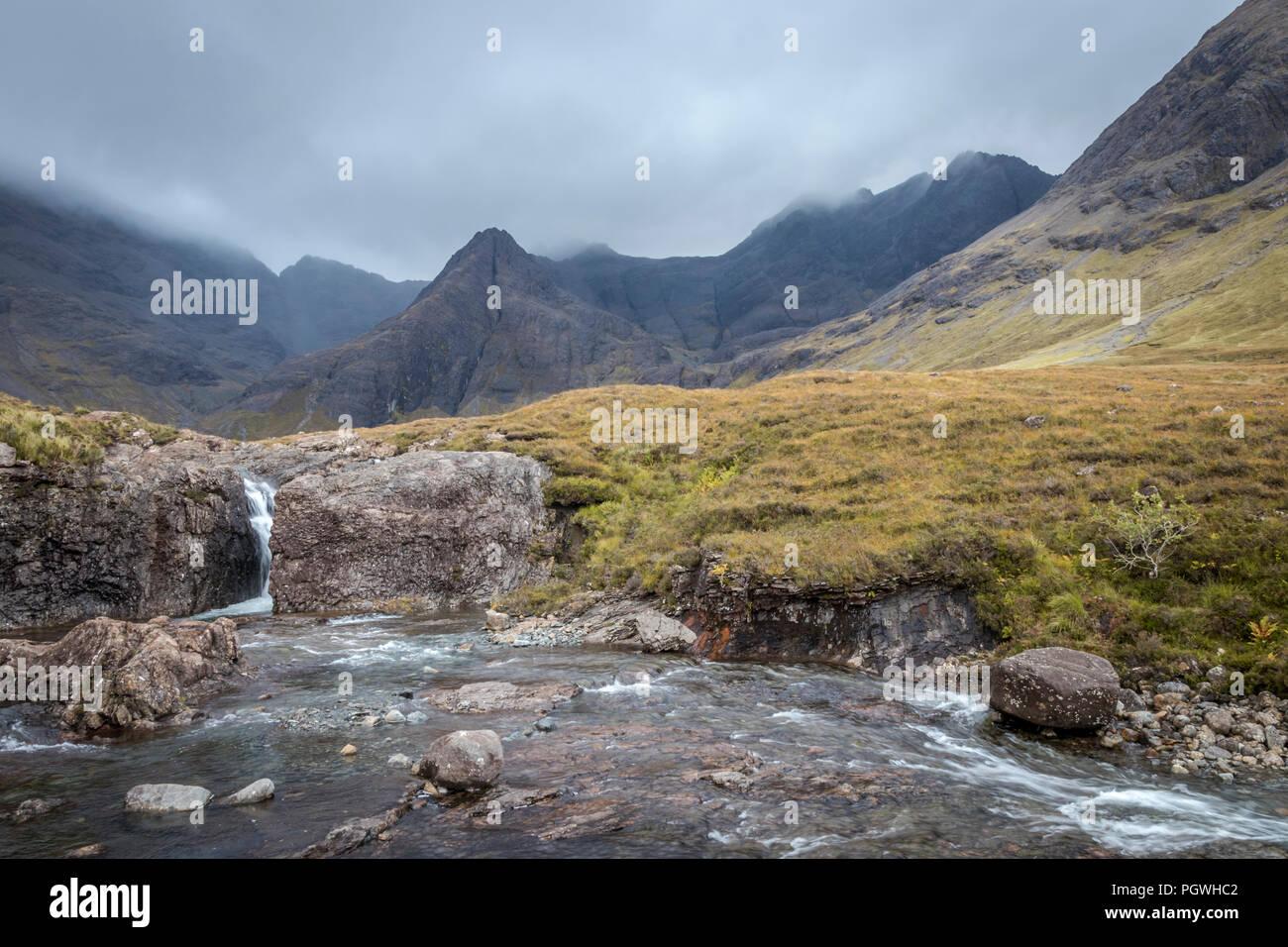 The Fairy Pools, Isle of Skye - Stock Image