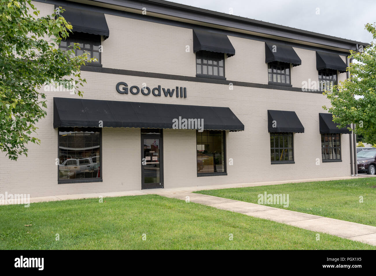 Goodwill charity shop in Winchester VA - Stock Image
