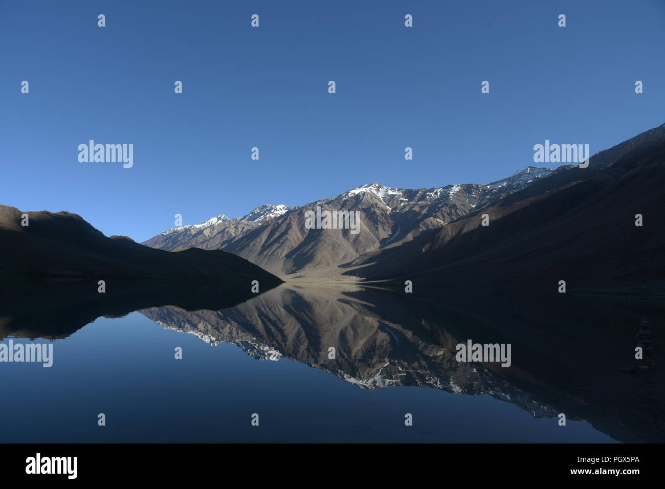 landscapes of Spiti , himachal pradesh ,India. - Stock Image