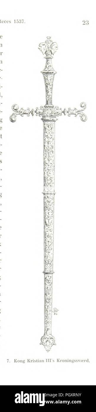 Image  from page 459 of 'Danmarks Riges Historie af J. Steenstrup, Kr. Erslev, A. Heise, V. Mollerup, J. A. Fridericia, E. Holm, A. D. Jørgensen. Historisk illustreret' . - Stock Image