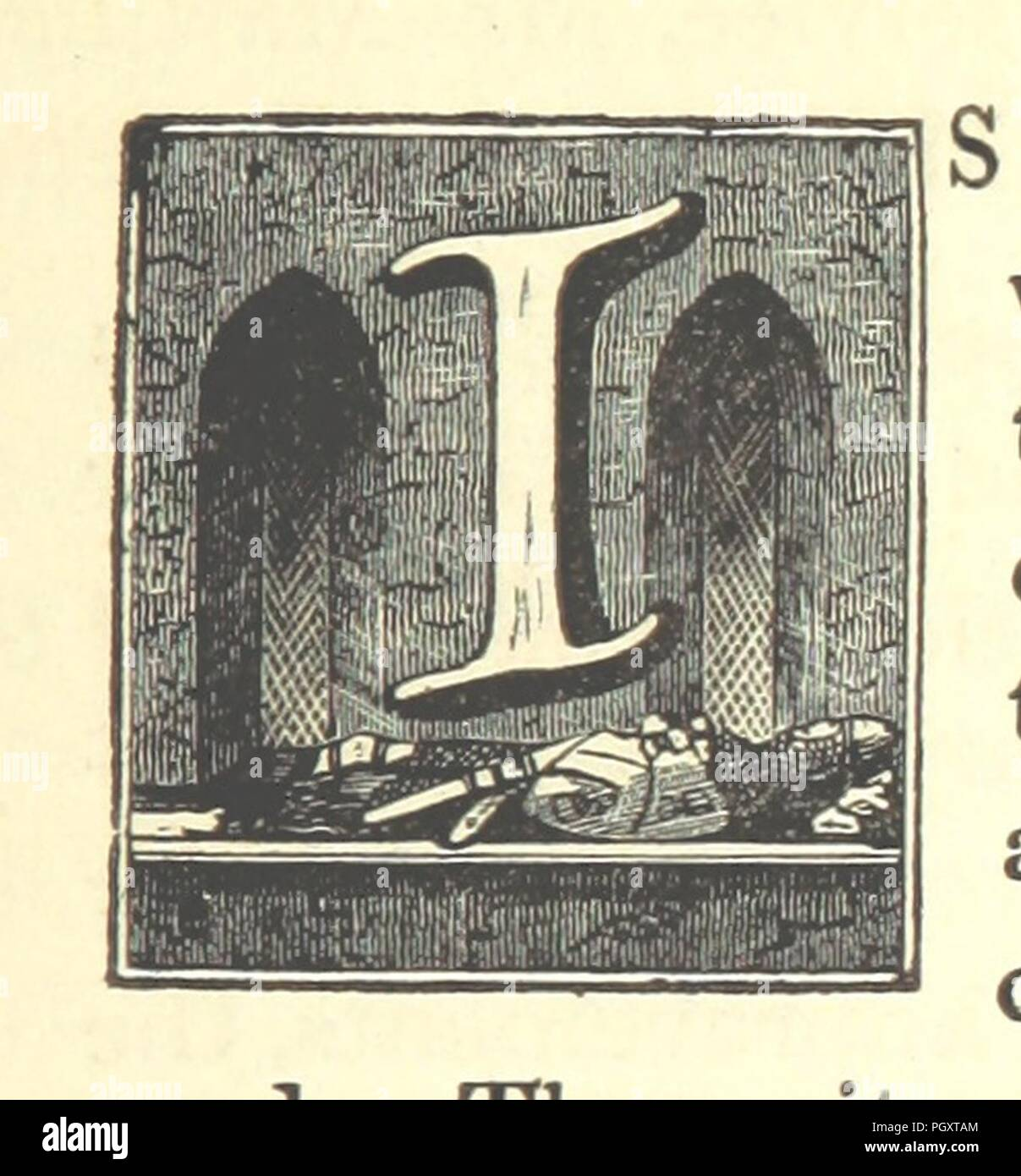 Image  from page 491 of 'The history and topography of the Isle of Axholme, being that part of Lincolnshire which is west of Trent' . - Stock Image