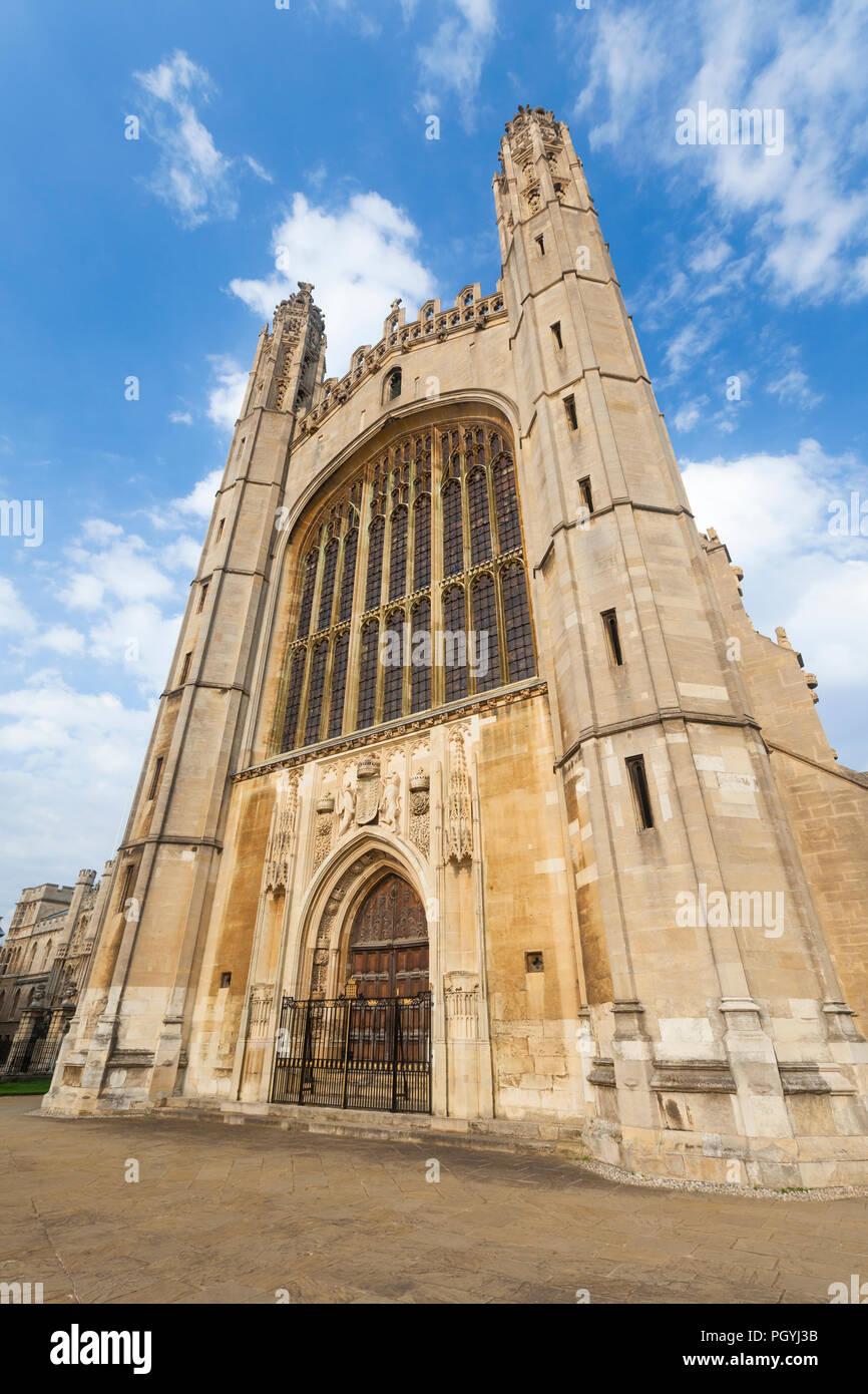 Kings college chapel, Cambridge, England - Stock Image