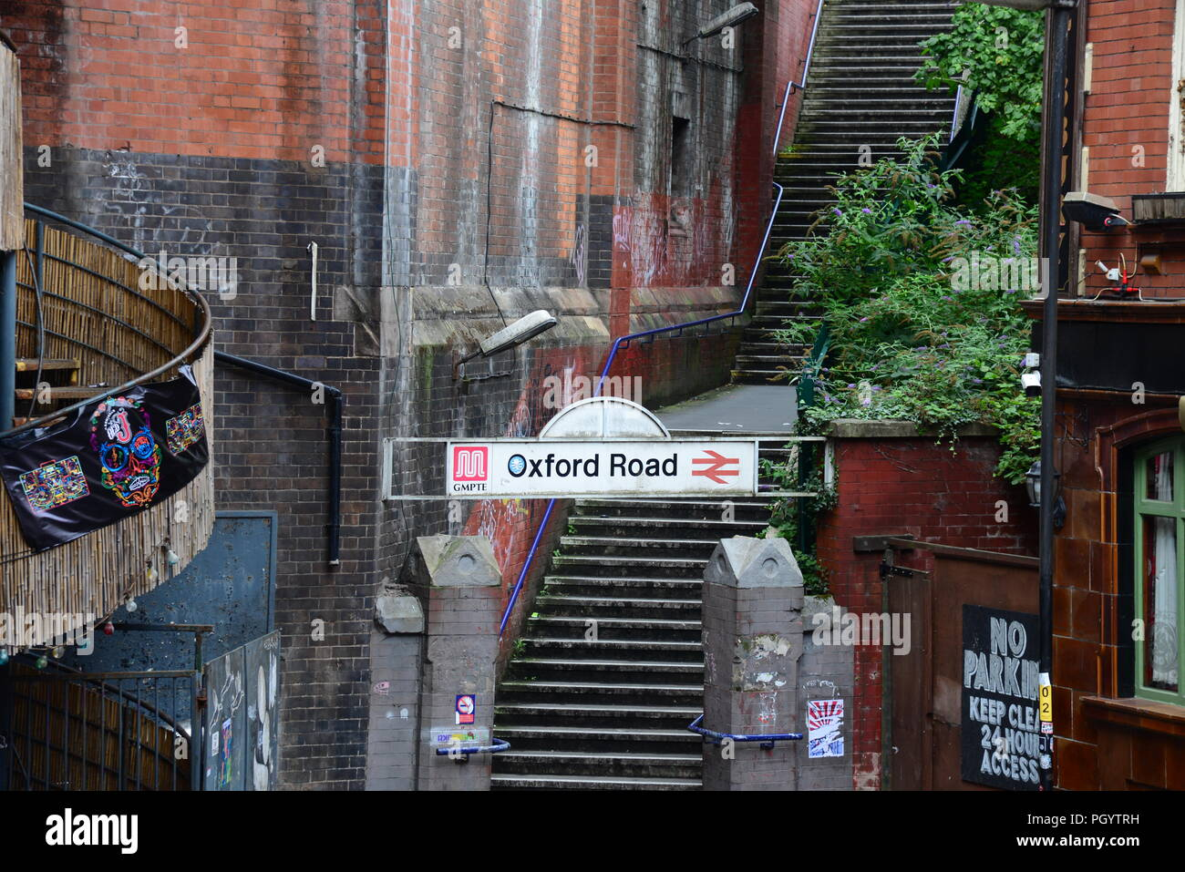 Oxford Road station Manchester - Stock Image