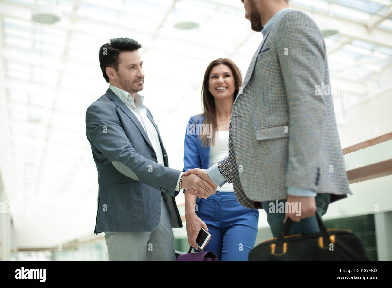 People Greet Each Other Stock Photos People Greet Each Other Stock