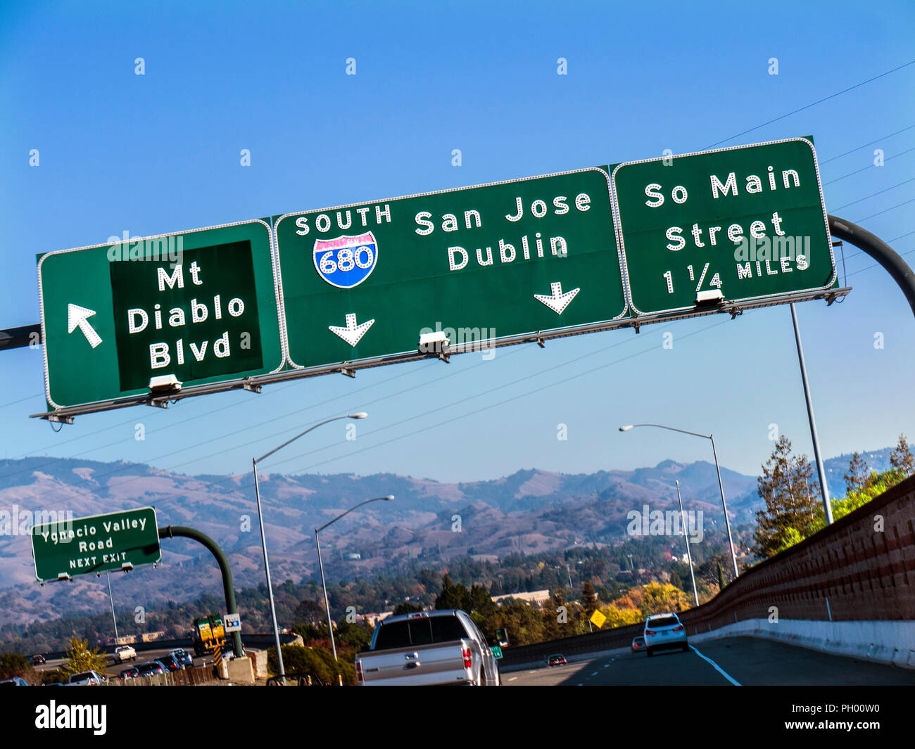 Interstate Highway Signs Stock Photos & Interstate Highway Signs