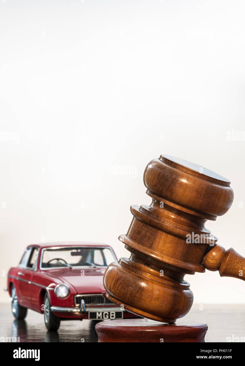 Mgb Gt Stock Photos Images Alamy Back Gallery For Parallel Circuit Definition Kids Concept Image Of Classic Red Vintage 1969 With Auctioneers Hammer In Car Auction