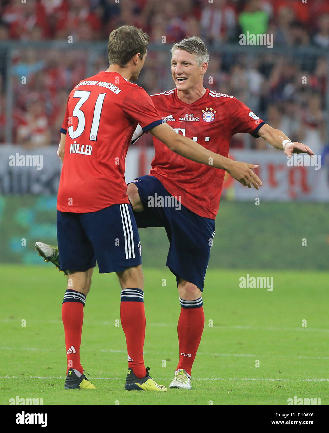 Munich, Germany  28th August 2018  28 08 2018, Farewell Game