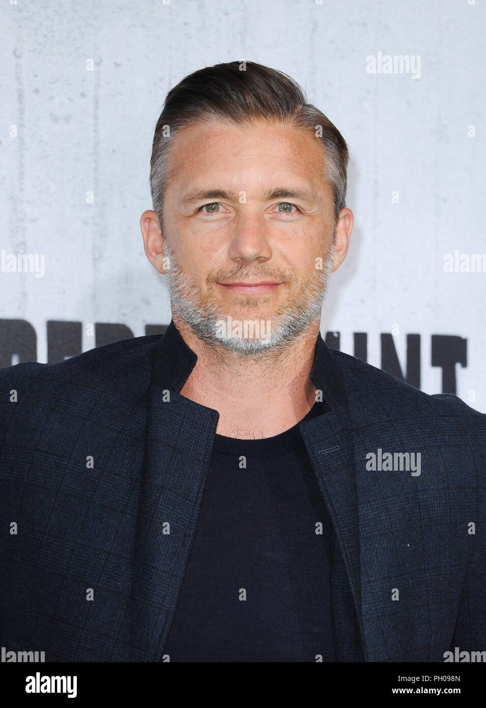 Los Angeles, CA, USA  28th Aug, 2018  Jeff Hephner at