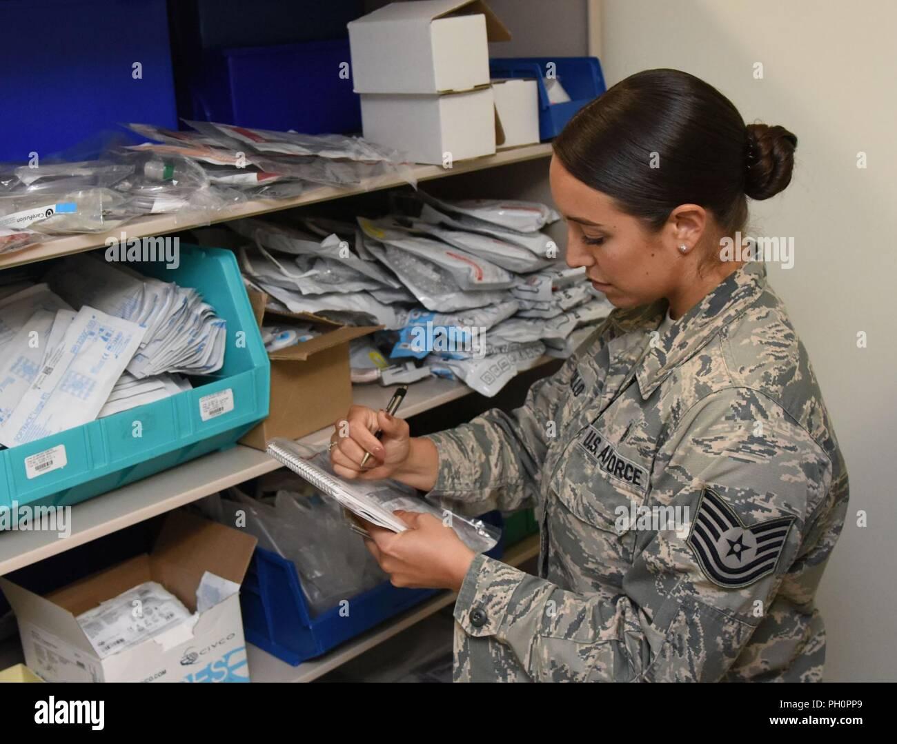 U S  Air Force Tech  Sgt  Juliet Corcillo, 81st Medical