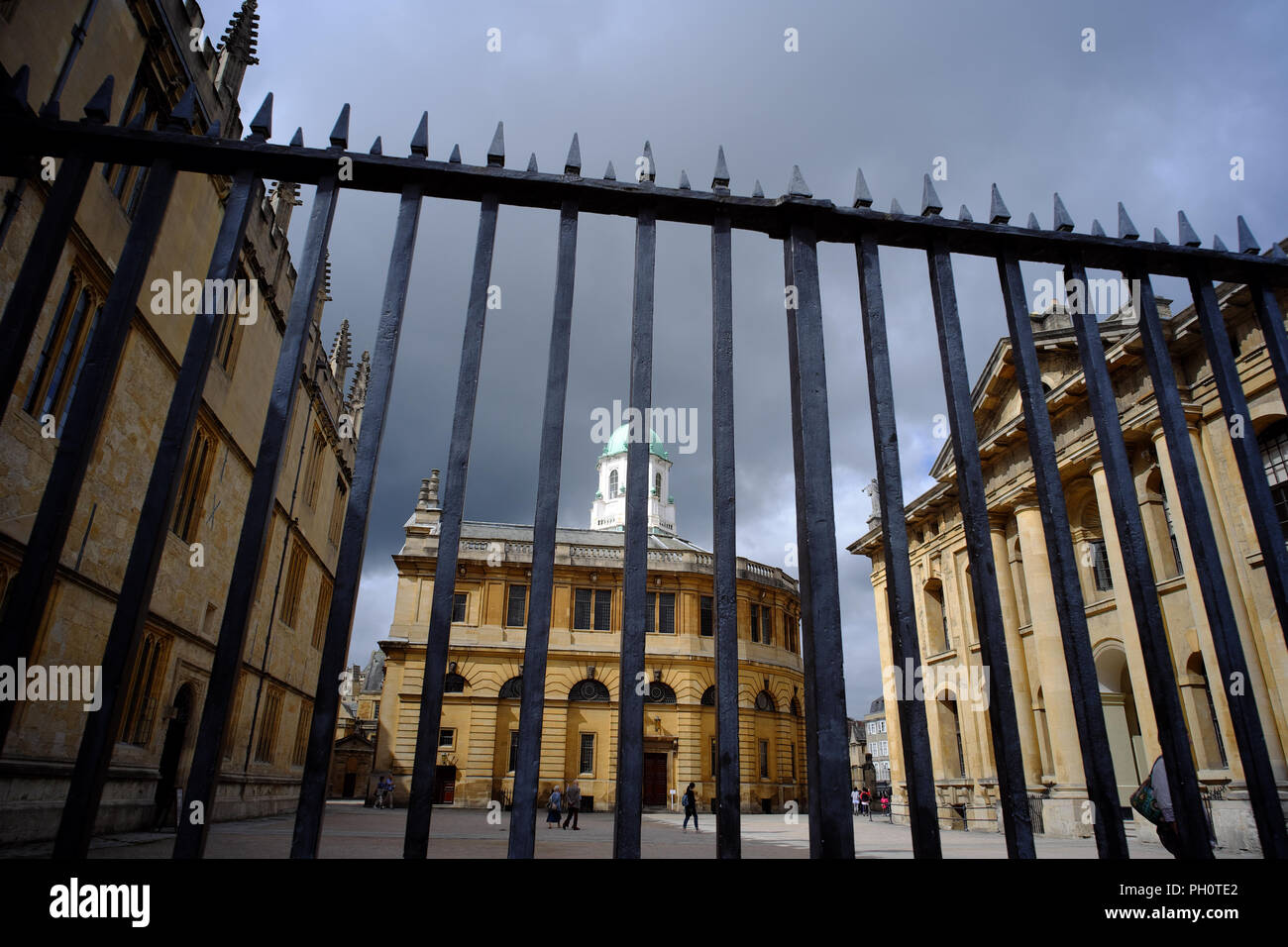 Sheldonian Theatre, Oxford, Oxfordshire, England, UK Stock Photo