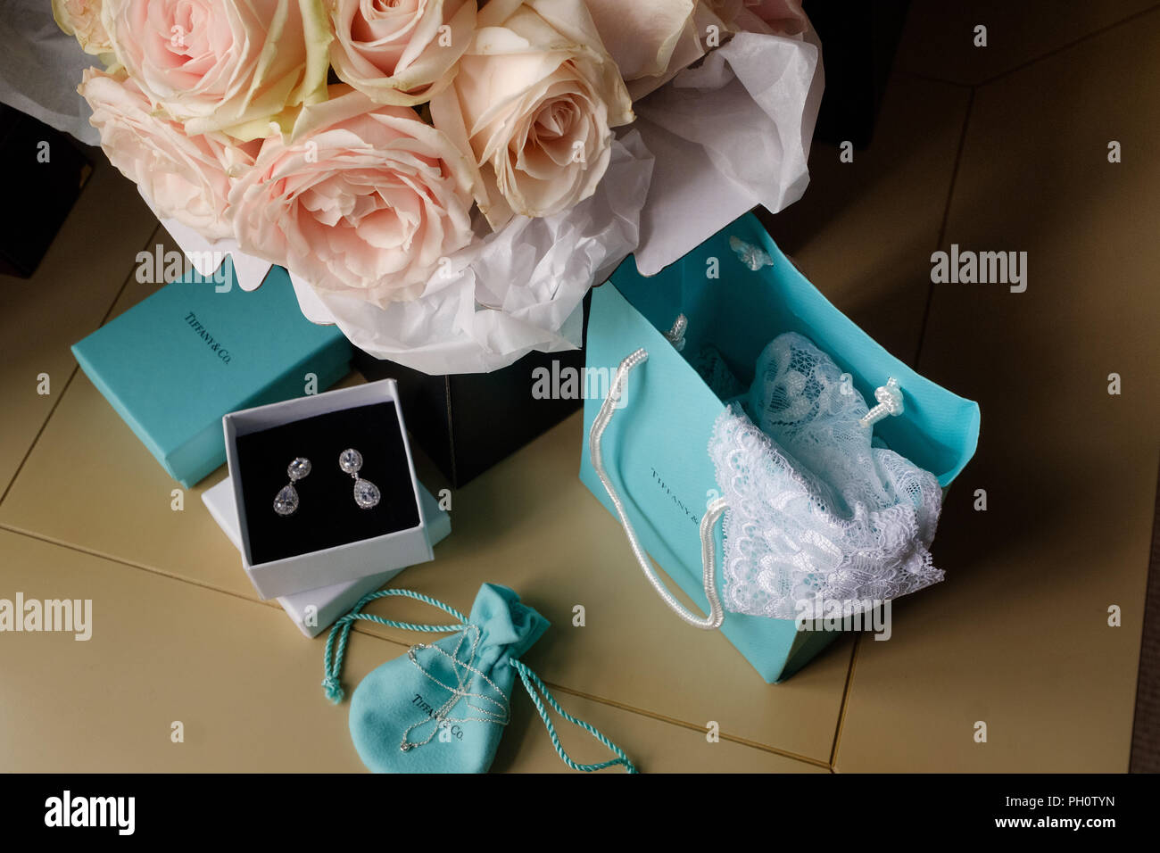 Bridal Accesories - Stock Image