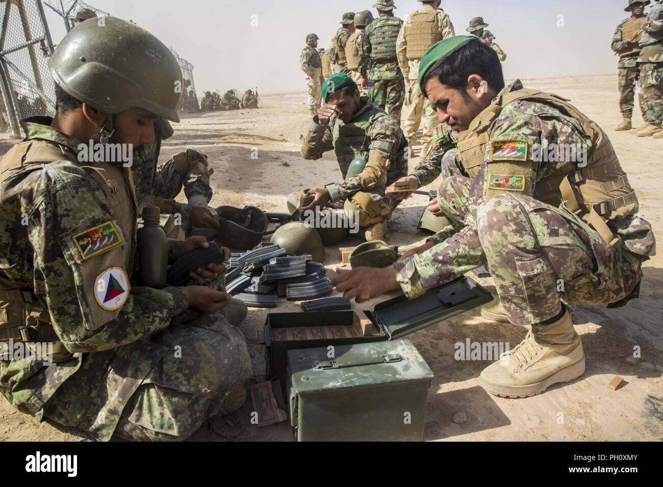 HELMAND PROVINCE, Afghanistan (June 20, 2018) - Afghan National Army