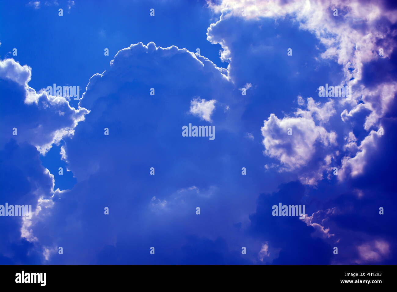 Clouds over Baden-Wurttemberg - Stock Image