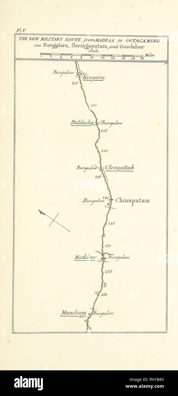 Image  from page 117 of 'Observations on the Neilgherries, including an account of their topography, climate, soil & productions, and of the effects of the climate on the European constitution . Edited by W. H. Smoult. [Wi0075. Stock Photo