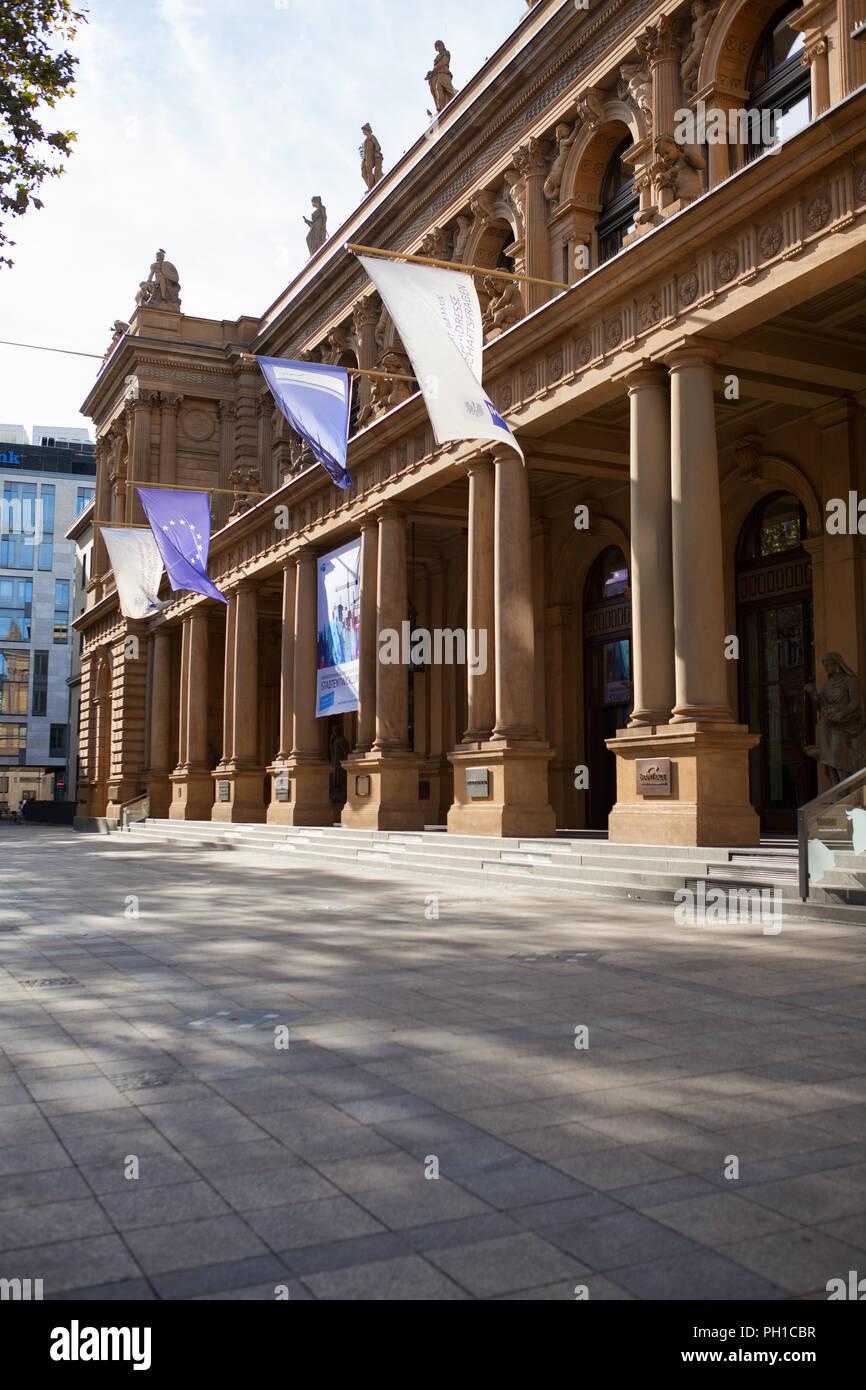 Europa Deutschland Hessen Rhein-Main Frankfurt am Main Finanzstadt Exchange Börse - Stock Image