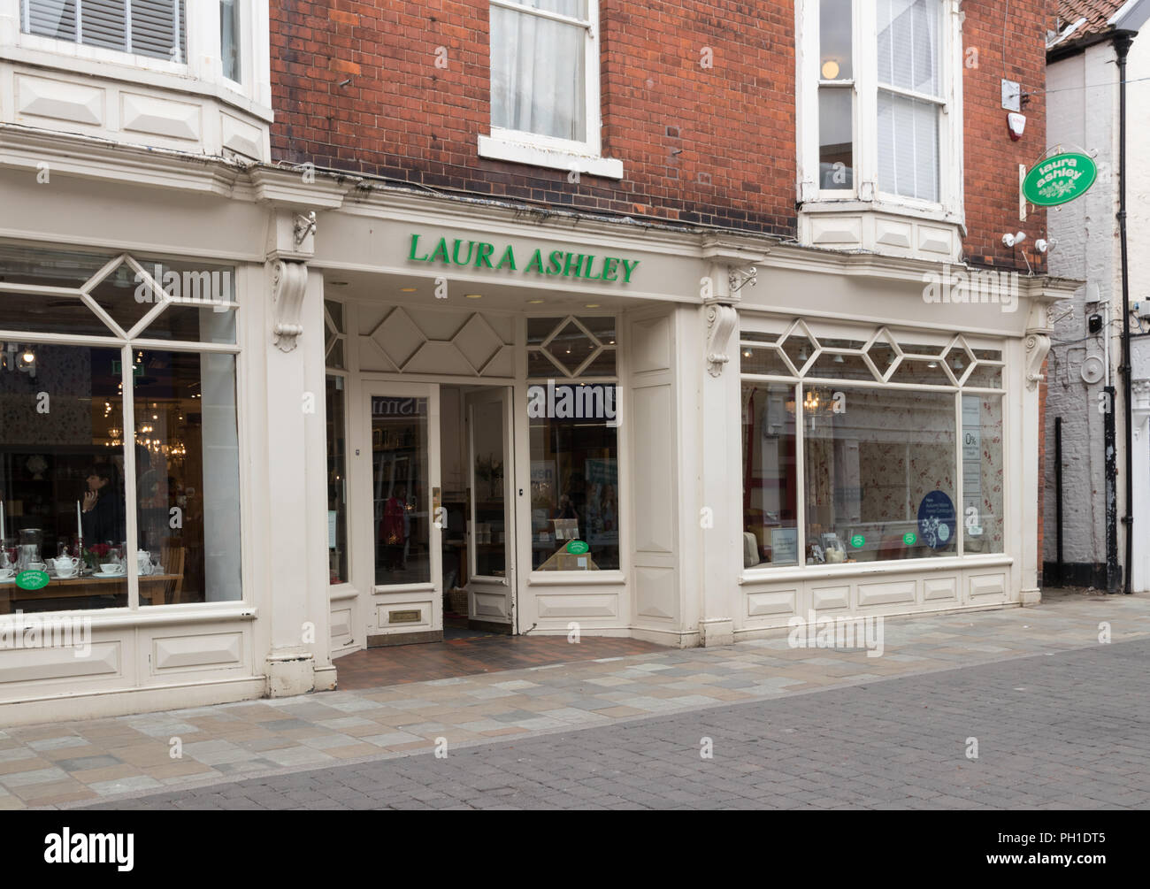 The Laura Ashley shop in Beverley, East Yorkshire - Stock Image