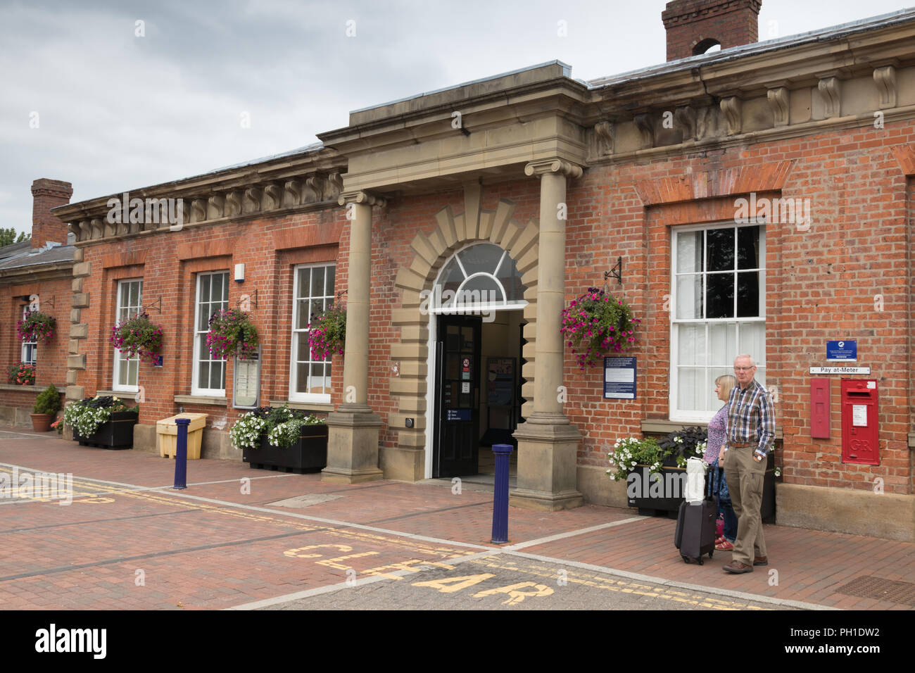 Beverley Railway Station in East Yorkshire - Stock Image